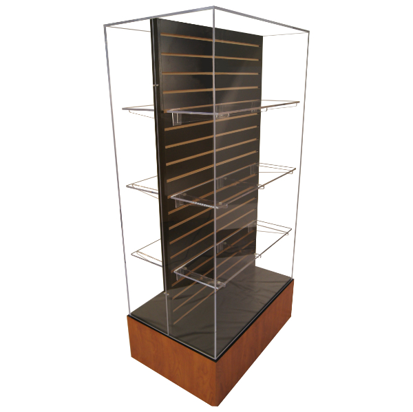 Excelsior Double Sided Island Case (6 Shelves & 12 Brackets Included)