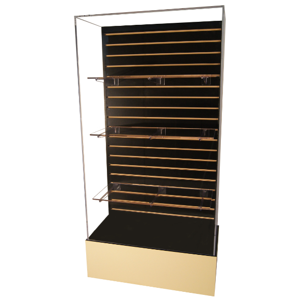 Excelsior Wall Case (3 Shelves & 6 Brackets Included)